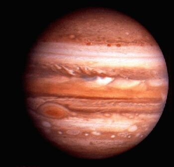 JUPITER - a gas giant and fifth planet from the Sun